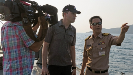 Ted Kemp with Royal Thai Navy