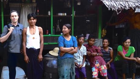 Kemp in Burma.