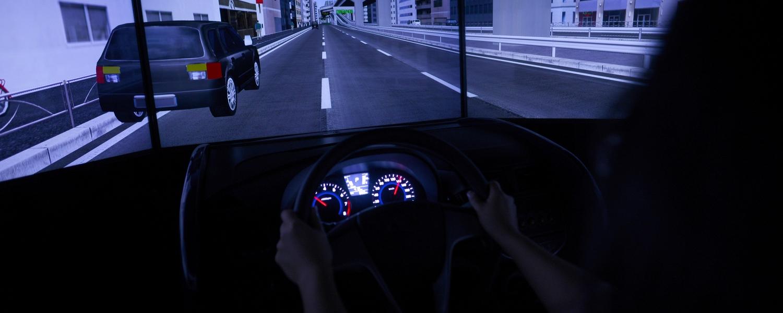 driving simulator dashboard