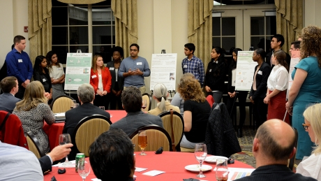Social Innovation Fellows present their projects to the Brain Trust