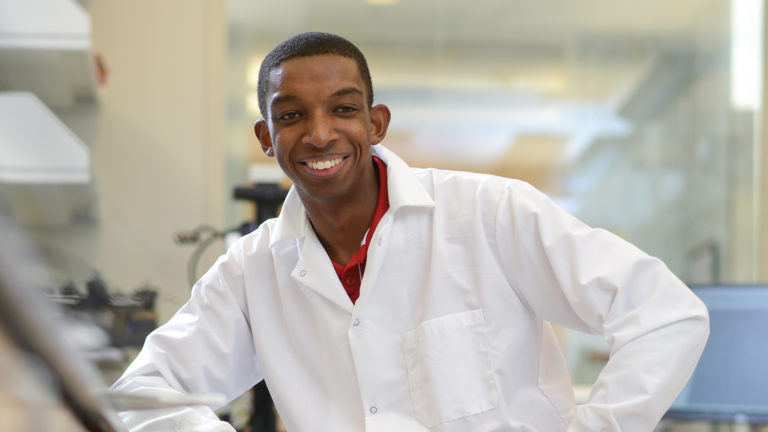 Kobi Felton, an NC State engineering student and recipient of the prestigious Marshall Scholarship.