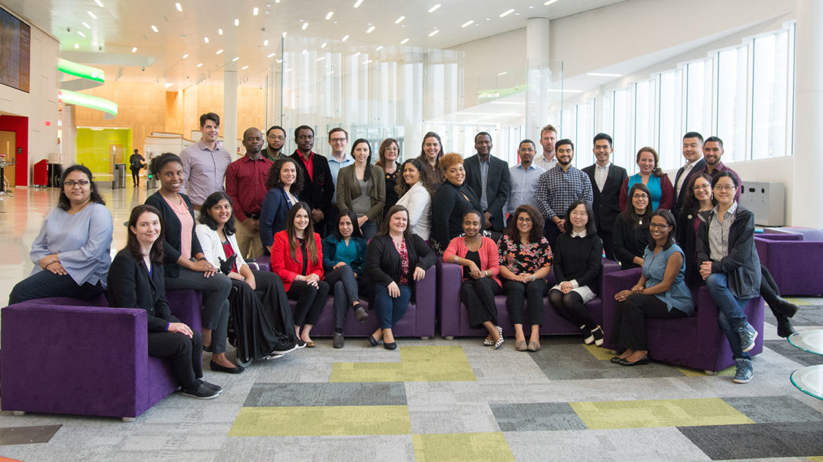Building Future Faculty 2019 participant group
