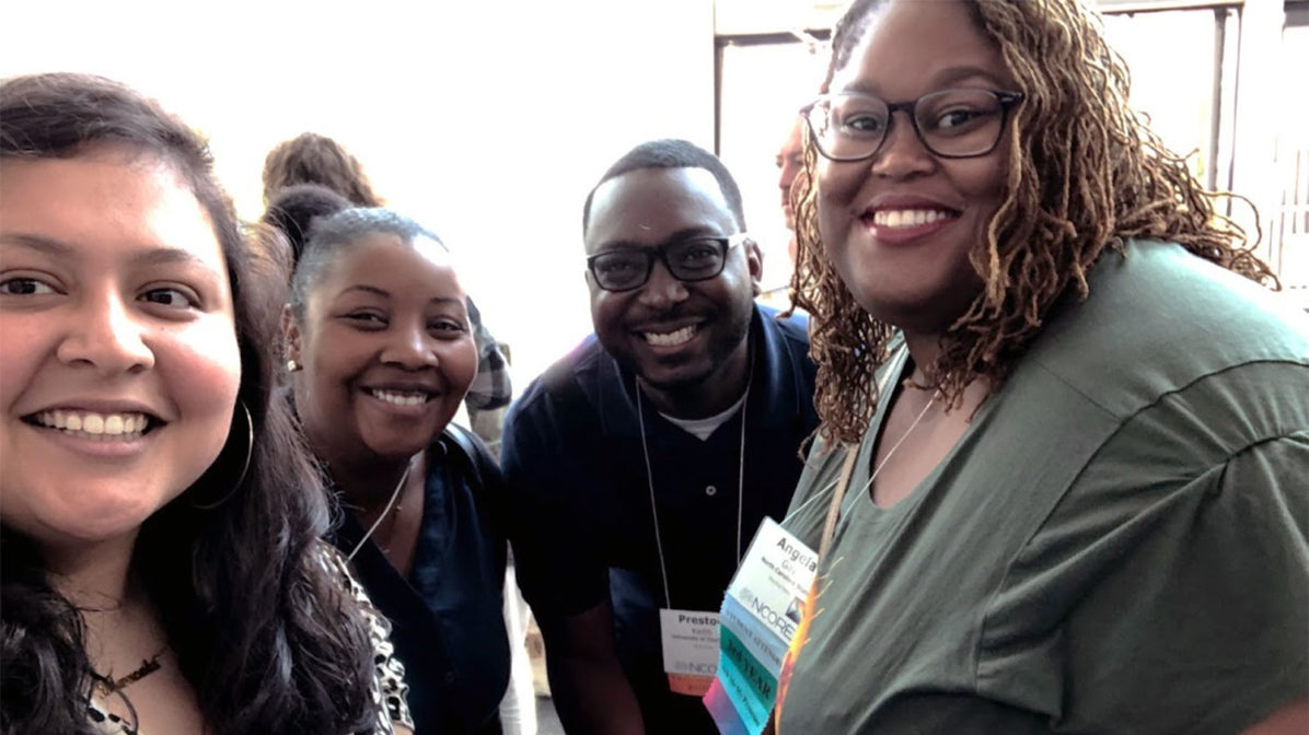 OIED staff members at NCORE 2019
