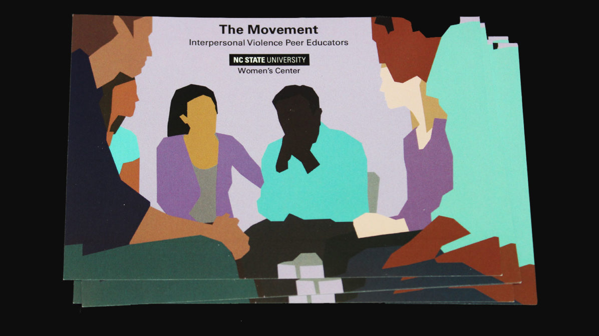 Postcards for The Movement Peer Educators