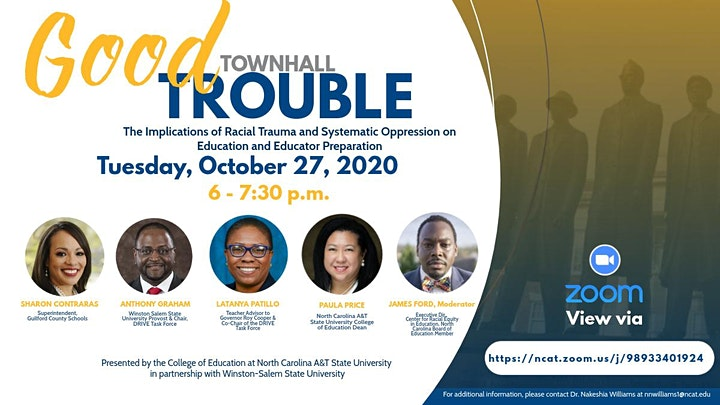 Good Trouble Town Hall