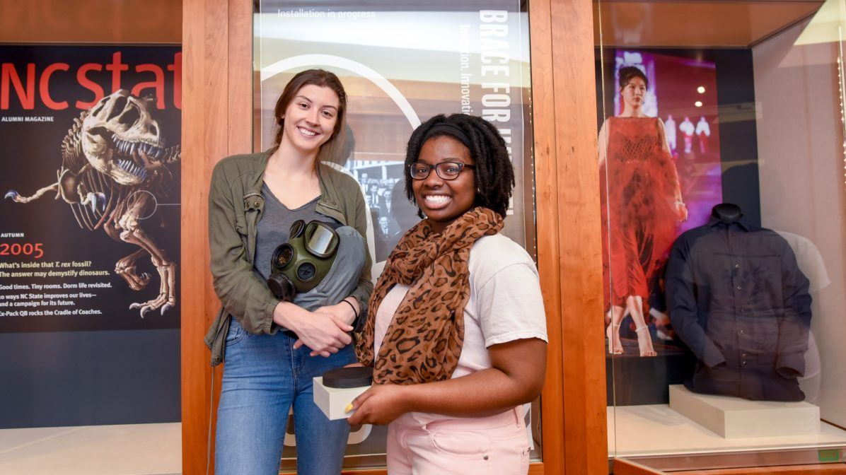 Brace for Impact exhibit at D.H. Hill Library