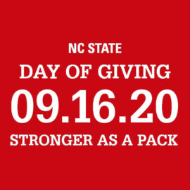 Day of Giving: Stronger as a Pack is September 16, 2020